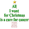 All I want for Christmas is a cure for cancer