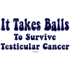 It Takes Balls to Survive Testicular Cancer!